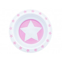 Pimpalou anti-slip bowl star pink