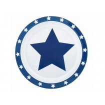 Pimpalou anti-slip plate star blue