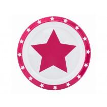 Pimpalou anti-slip plate star fuchsia