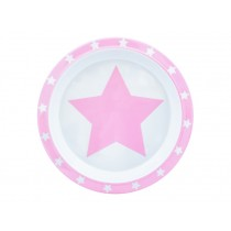 Pimpalou anti-slip plate star pink