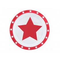 Pimpalou anti-slip plate star red