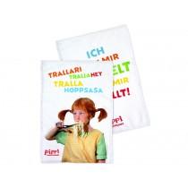 Pippi Longstocking tea towel set