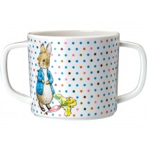 Petit Jour Double-Handled Cup PETER RABBIT