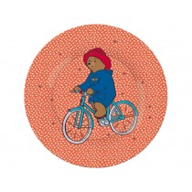 Petit Jour Melamine Plate PADDINGTON red