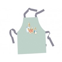 Petit Jour Kids Apron PETER RABBIT mint