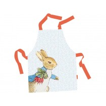 Petit Jour Kids Apron PETER RABBIT white