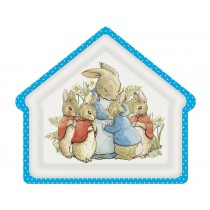 Petit Jour Plate House Shape PETER RABBIT