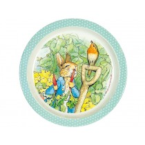 Petit Jour Melamine Plate PETER RABBIT mint