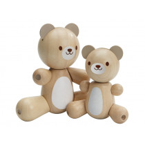 PlanToys Wooden Bear Set