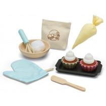 PlanToys Cupcake Baking Play Set
