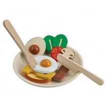 Plantoys Wooden Breakfast Set