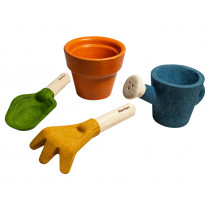 Plantoys Wooden Gardening Set