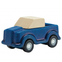 Plantoys Mini Wooden TRUCK blue
