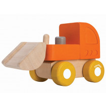 Plantoys Mini Wooden BULLDOZER