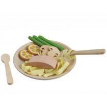 Plantoys Wooden Pasta Dish FISH