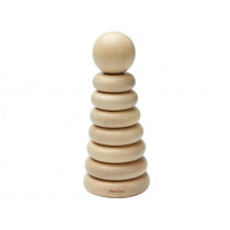 Plantoys STACKING TOWER natural