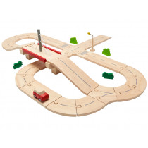 PlanToys Wooden Road System