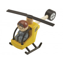 Plantoys Helicopter With Pilot