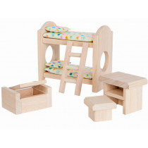 PlanToys Dollhouse Childrens Room CLASSIC