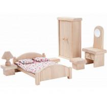 PlanToys Dollhouse Bedroom CLASSIC
