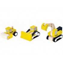 Plantoys Vehicle Set ROAD CONSTRUCTION