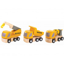 Plantoys Vehicle Set HIGHWAY MAINTENANCE
