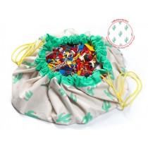 Play & Go toy storage bag Cactus