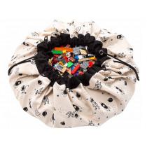 Play & Go toy storage bag GLOW IN THE DARK SPACE