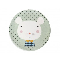 Melamine Plate Mouse Drops by Petit Monkey
