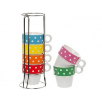 Present Time Ristretto set mini dots