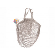 Rex London Organic Shopping Net Bag PALE GREY