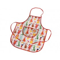 Rex London Kids Apron COLOURFUL CREATURES