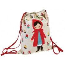 Rexinter drawstring bag Red Riding Hood