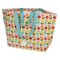 Shopping bag Midcentury Poppy large