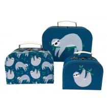 Rex London suitcase set SYDNEY THE SLOTH