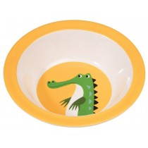 Rexinter melamine bowl Crocodile