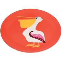 Rex London melamine plate Pelican