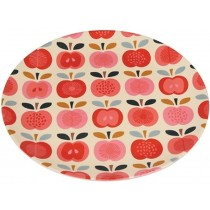 Rexinter melamine plate Vintage Apple