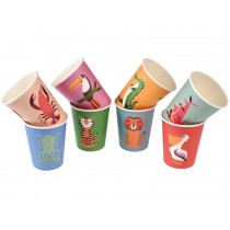 Rexinter paper cups Colourful Creatures