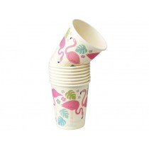 Rexinter paper cups FLAMINGO