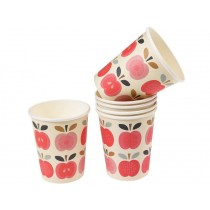 Rexinter paper cups Vintage Apple