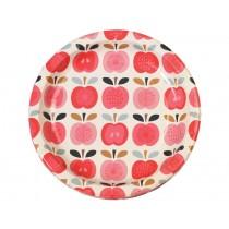 Rexinter party plates Vintage Apple