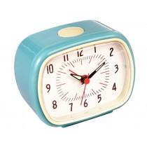 Retro clock blue