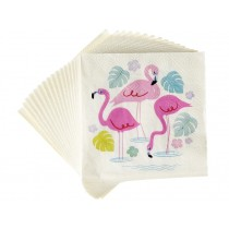 Rexinter paper napkins FLAMINGO