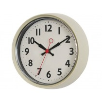 Rexinter wall clock 1950's ivory