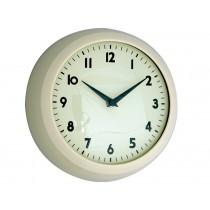 Rexinter Retro Wall Clock Ivory