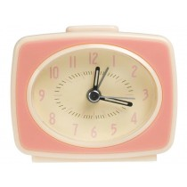 Rexinter alarm clock Vintage TV-style pink