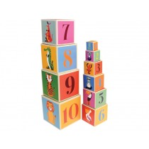 Rex London stacking blocks COLOURFUL CREATURES
