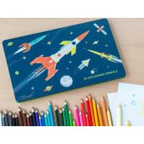 Rexinter 36 Colour Pencils SPACE AGE