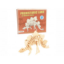 Rex London 3D Wooden Dinosaur Puzzle STEGOSAURUS